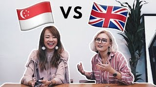 Video SINGAPOREAN VS BRITISH SLANG CHALLENGE! (FT. JADE SEAH) MP3, 3GP, MP4, WEBM, AVI, FLV Agustus 2018