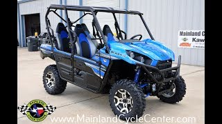 1. $16,999:  2018 Kawasaki Teryx4 LE Candy Plasma Blue Overview and Review
