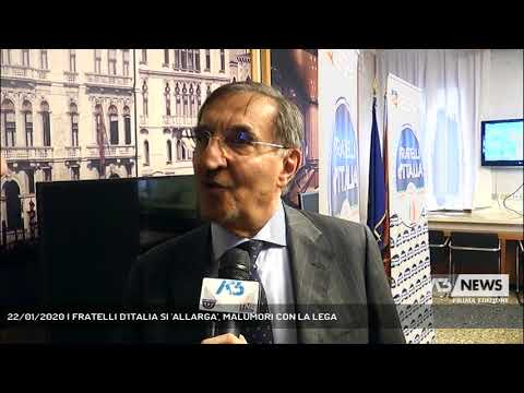 22/01/2020 | FRATELLI D'ITALIA SI 'ALLARGA', MALUMORI CON LA LEGA