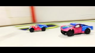 Fast RC Cars Racing Indoors