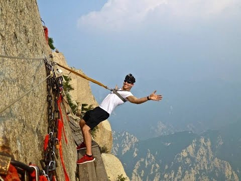 monte hua shan: ci fareste trekking?