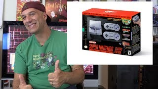In this video I share my thoughts about the new upcoming SNES Classic Mini by Nintendo. What do you guys think of it?Music by Ben Allen with CollectorVision Games: http://collectorvision.com/More at: http://gamester81.com/Follow me at: Facebook: https://www.facebook.com/Gamester81FanpageTwitter: https://twitter.com/gamester81Instagram: http://instagram.com/gamester81Gamester81 Shirts: https://www.chopshopgoods.com/collections/youtube-partnersMy other channels: Starwarsnut77: https://www.youtube.com/user/starwarsnut77.comNEStalgiaholic: https://www.youtube.com/user/NEStalgiaholicGamester81Arcade: https://www.youtube.com/user/gamester81arcadeMore at: http://gamester81.com/Follow me at: Facebook: https://www.facebook.com/Gamester81FanpageTwitter: https://twitter.com/gamester81Instagram: http://instagram.com/gamester81
