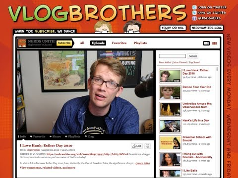 YouTube History Lesson: Vlogbrothers Through the Ages