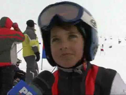 Concurs de schi in Valea Prahovei