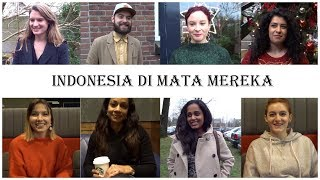 Video Indonesia in the eyes of Foreigners MP3, 3GP, MP4, WEBM, AVI, FLV Oktober 2018