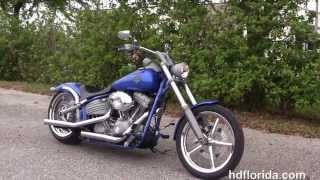 5. Used 2008 Harley Davidson Softail Rocker Motorcycles for sale in Florida