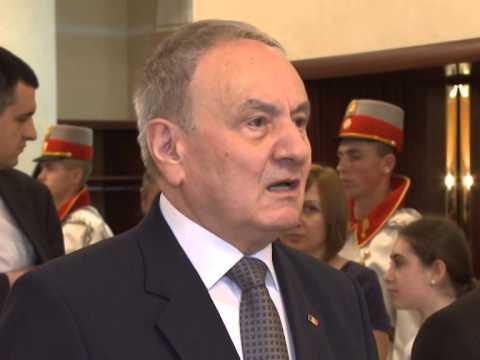 Președintele Republicii Moldova, Nicolae Timofti, a primit un grup de elevi și profesori de la liceele cu predare în limba română din regiunea transnistreană