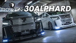 TOYOTA 30ALPHARD facelift Bodykit by ROWEN JAPAN *New Products