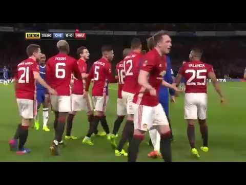 Chelsea vs Manchester United 1 0   All Goals And Match Highlights   FA Cup 13 03 2017