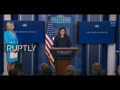 LIVE: Briefing by White House Press Secretary Sarah Huckabee Sanders