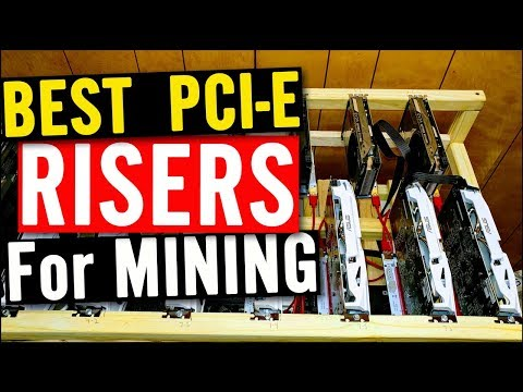 Best PCI-E RISERS for GPU Mining Rig (Ver. 008S) - zero failure rate!