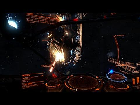 Elite Dangerous - Combat for the first time - Korvus S01E03