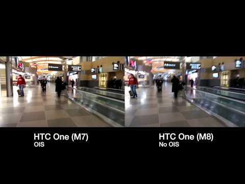 HTC M7 vs M8 – OIS Demonstration