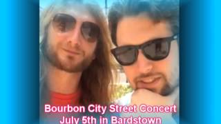 Bourbon City Street Concert is July 5th in Bardstown
