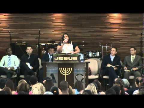 Missionária Lourdes Santana - AD Marilia SP - Congregação 9 de Julho