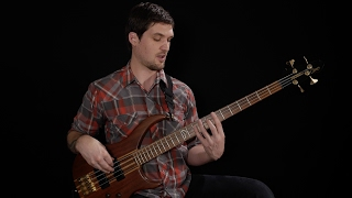 BECOME A PATRON: http://patreon.com/joshfossgreenFREE PDF FOR THIS LESSON: http://joshfossgreen.com/?p=1518Build up your coordination and speed with these gnarly left exercises for bass. Most left hand exercises (including some I've presented in the past) focus on patterns that happen all on the same string. This is great practice, and I still do those types of exercises myself.BUT - these exercises are really cool because they incorporate string crossing into the basic fingering pattern, so you get more contextual practice using your left hand fingers, and a lot of string crossing practice for your right hand.Make sure you start working on these at a relatively slow tempo, focusing on good left hand technique. Keep your fingers close to the neck, even pressed down or resting on the strings when appropriate, and try to stay ready one note ahead of where you're actually playing.And have fun! How fast can you go without sacrificing technique?http://patreon.com/joshfossgreenhttp://joshfossgreen.com/onlinebasslessonsJosh Fossgreen is endorsed by TC Electronic and Hipshothttp://tcelectronic.com/http://www.hipshotproducts.com/