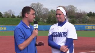 Player of the Game - Softball vs. Davenport