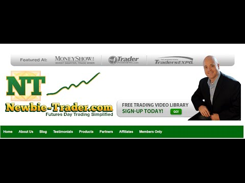 Online futures trading simulator