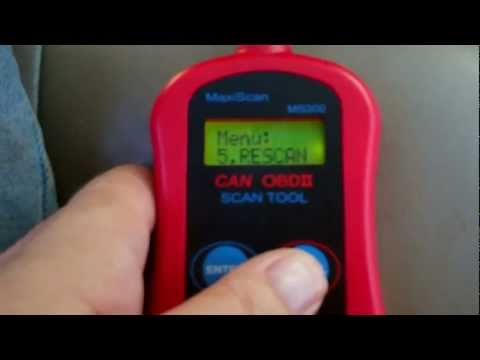 CAN OBDII Scan Tool Autel MaxiScan MS300 Review