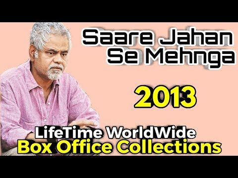 SAARE JAHAN SE MEHNGA 2013 Movie LifeTime WorldWide Box Office Collection | Cast Rating