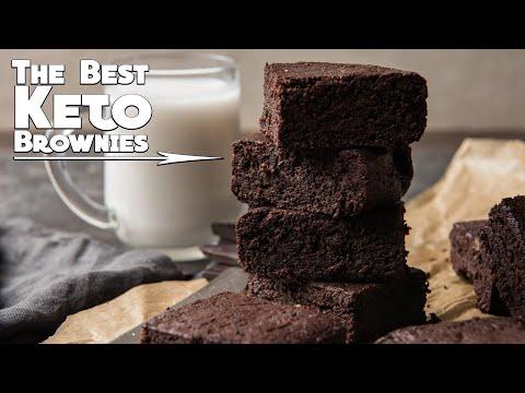 Best Keto Brownies Recipe | Fudgy Coconut Flour Brownies | Low Carb Gluten Free
