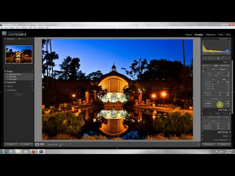 Night Photography Editing. Lightroom 3 edit tutorial for beginners. Simple steps to follow