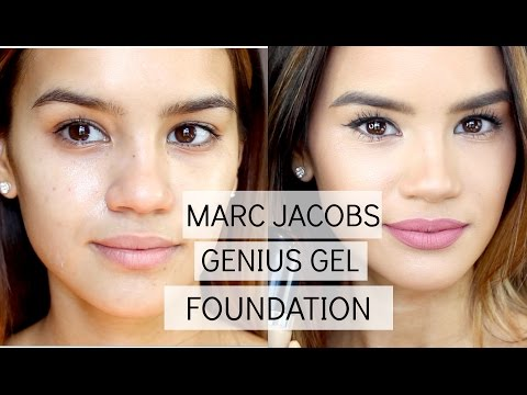 Marc Jacobs Genius Gel Foundation | Demo & Review