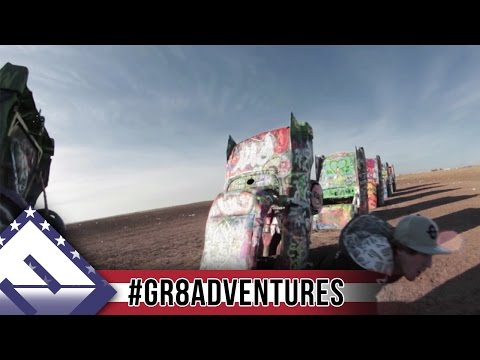 Jesse & Cory's Great Adventure (Ep.3) | Cadillac Ranch | #GR8Adventures