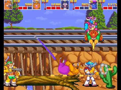 Wild West C.O.W.-Boys of Moo Mesa 4 player Netplay arcade game