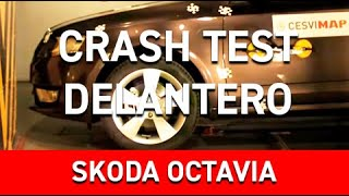 Crash Test Delantero Skoda Octavia
