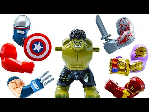 LEGO HULK SMASH (All Marvel Superheroes Hands)