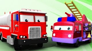 Video Water Tender and Fire Truck | Formation & Uses | 3D Learning Video For Kids MP3, 3GP, MP4, WEBM, AVI, FLV Mei 2017
