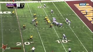 Ra'Shede Hageman vs Western Illinois (2013)