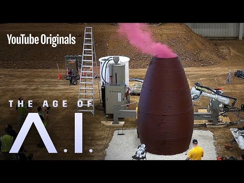The 'Space Architects' of Mars | The Age of A.I.