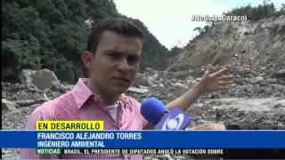 RIESGO DE AVALANCHA EN CASANARE POR AGUA REPRESADA