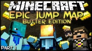 Minecraft: Epic Jump Map: Butter Edition - Part 1 - Butter.