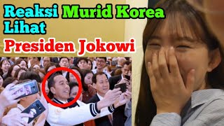 Video Reaksi Murid Korea Lihat Presiden Jokowi MP3, 3GP, MP4, WEBM, AVI, FLV September 2018