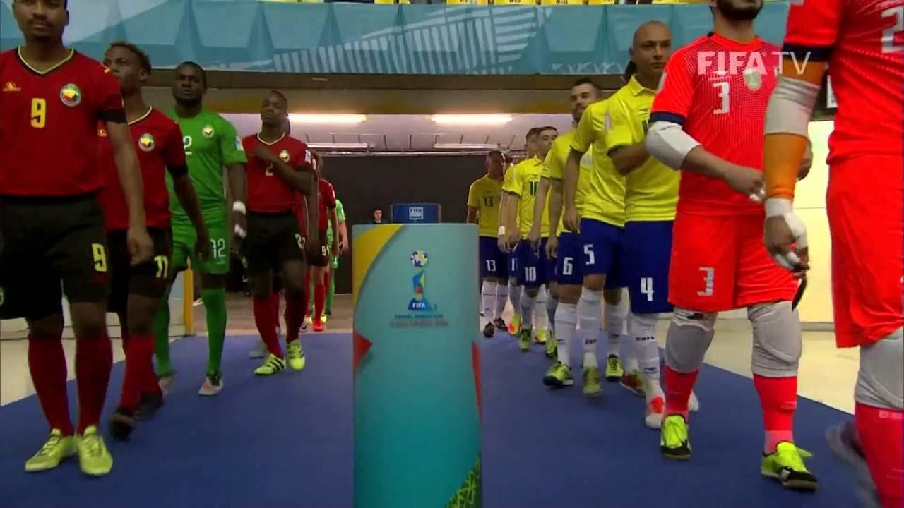 Match 32: Brazil v Mozambique – FIFA Futsal World Cup 2016