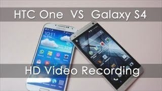 HTC One Vs Galaxy S4 1080p HD Video Recording Comparision