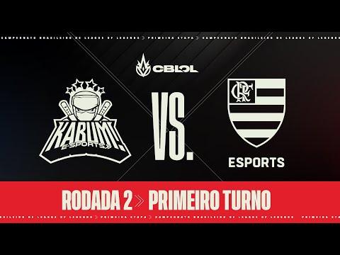 CBLOL 2021: 1ª Etapa - Fase de Pontos | KaBuM! Esports x Flamengo Esports (1º Turno)