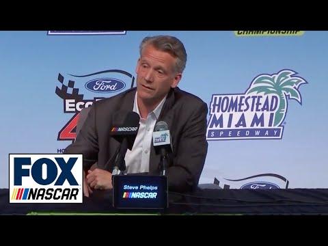 NASCAR President Steve Phelps addresses the state of the sport | FOX NASCAR
