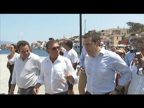 Επίσκεψη του πρωθυπουργού Αλέξη Τσίπρα στη Χάλκη