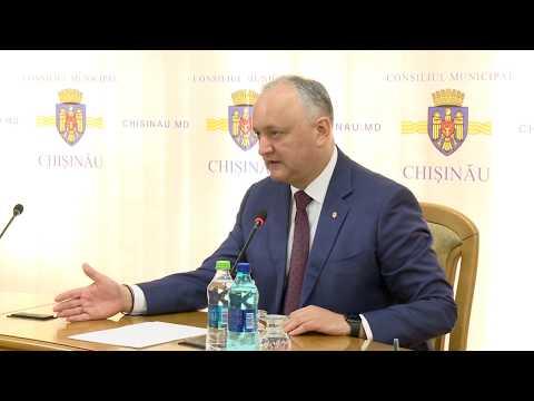 Игорь Додон призвал быть готовыми к росту числа инфицированных коронавирусом