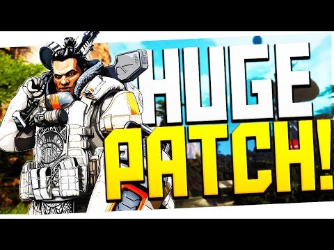 This Is The BIGGEST Apex Legends Patch! HUGE Gibraltar/Caustic Buffs, Wingman/Spitfire Nerfs + More!
