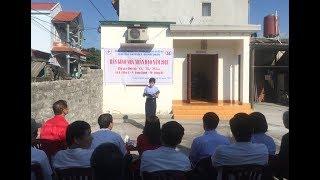 Bàn giao nhà nhân đạo cho hộ nghèo tại phường Vàng Danh