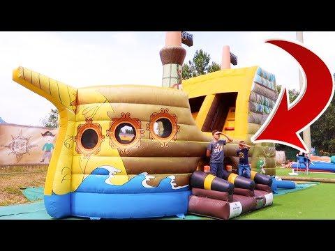 VLOG - FUN INDOOR chez LES PIRATES ! - Parc de Jeux intérieur/extérieur
