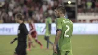 Clint Dempsey in der Saison 2013/14 für die Seattle Sounders