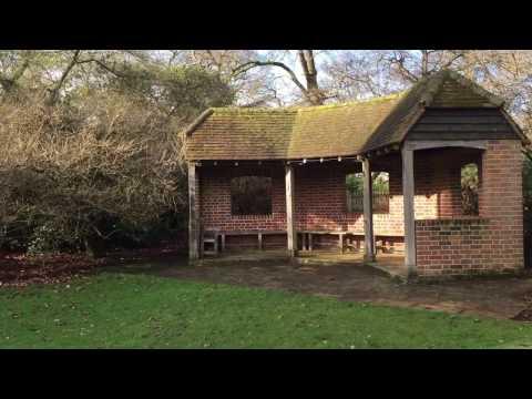 Summer House at Savill Garden, Windsor Great Park, Englefield Green, Egham, Surrey #savillgarden