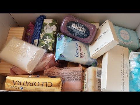 COLECȚIA MEA DE SĂPUNURI | MY SOAP COLLECTION