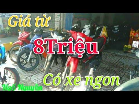 Tiệm xe cũ Phong Phát giá xe Honda chỉ từ 8 triệu wave nập, siriuc, exciter, rsx,... Ngố Nguyễn - Thời lượng: 14 phút.